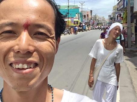 〜南インドで瞑想〜「お遍路編」