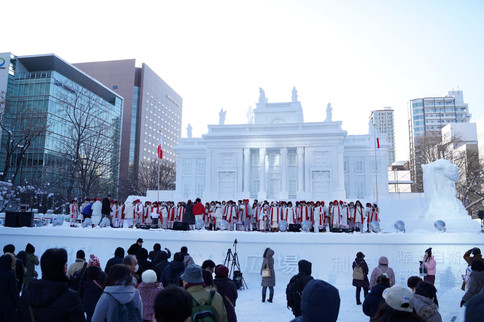 snow festival in Sapporo (Hokkaido)