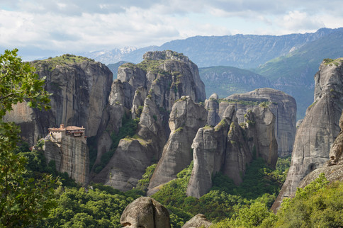 Les monastères des Météores (Grèce)