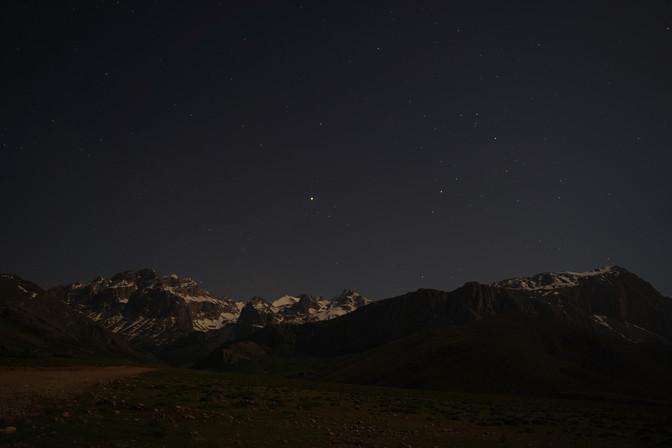 nightsky in Taurus Mountains