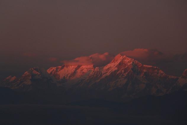 sunset in Bandhipur
