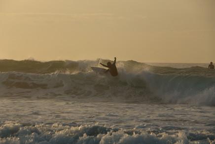 Surfing in Shikoku