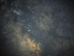 Night sky in Kyrgyzstan