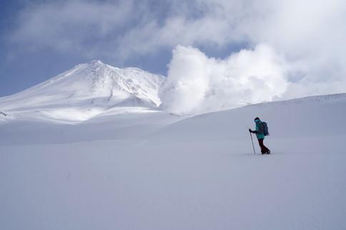 splitboard - Mount Asahidake