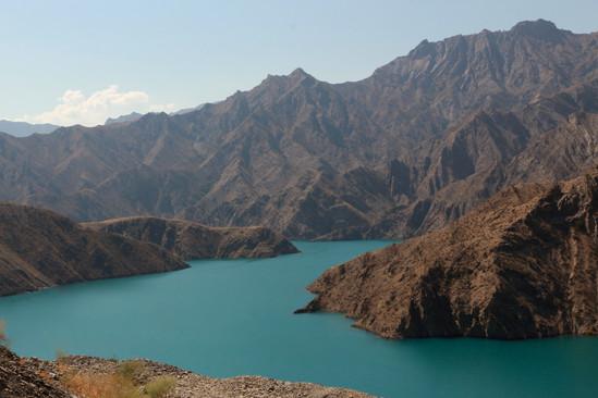 paysage kirghize
