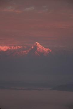 sunrise in Bandhipur