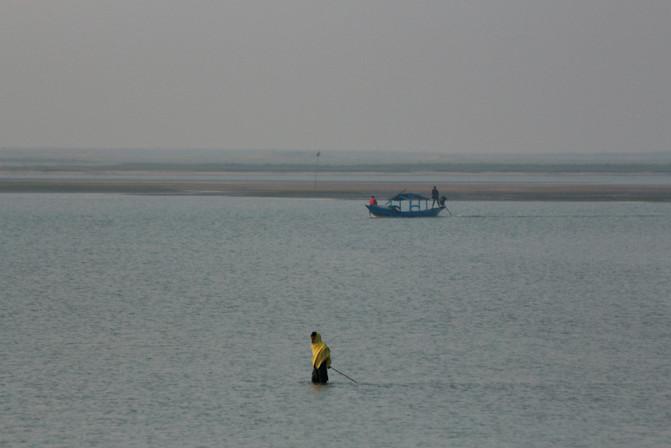 fisherman village close to Puri