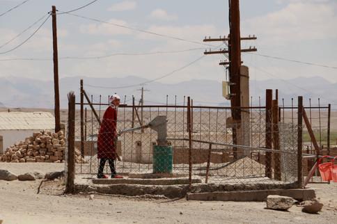 l'eau dans les villages du Pamir