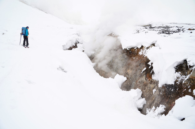 touring ski in Tokachidake