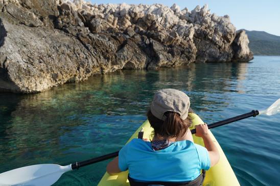 kayaking in the western coast