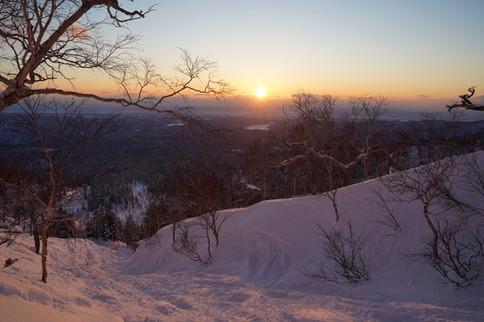 ski in Asahidake