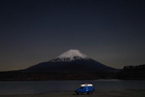 At the foot of Mount Fuji