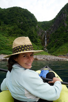 kayaking around Shiretoko Peninsula