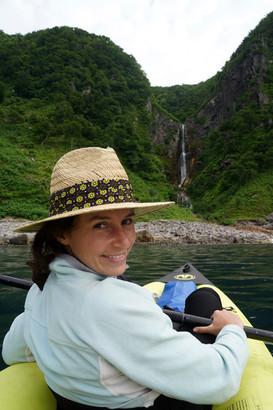 kayaking in Shiretoko