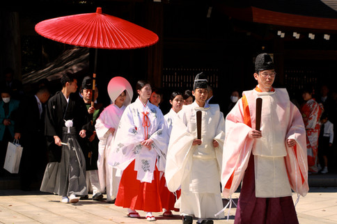 traditional wedding in Tokyo