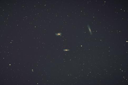 The Leo Triplet galaxies (M66)