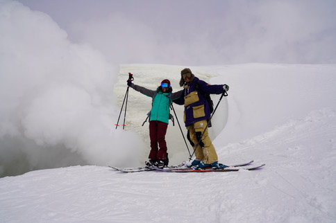 ski touring in Asahidake
