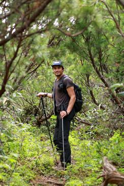 hiking in Tokachidake