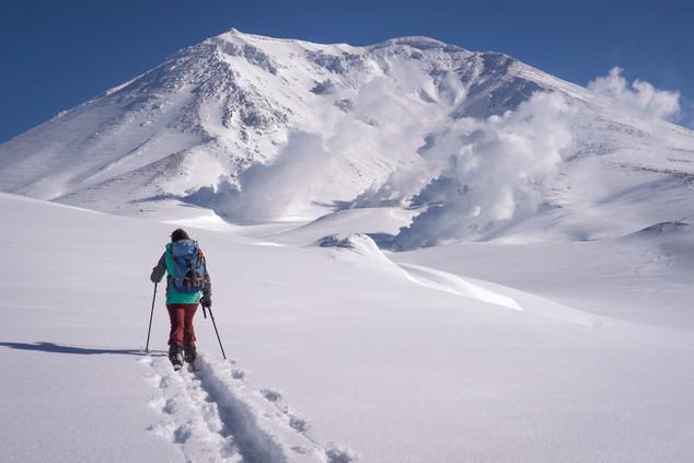 touring ski in Asahidake