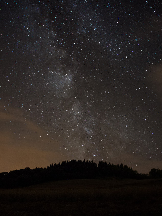 The milky way in the French Alps