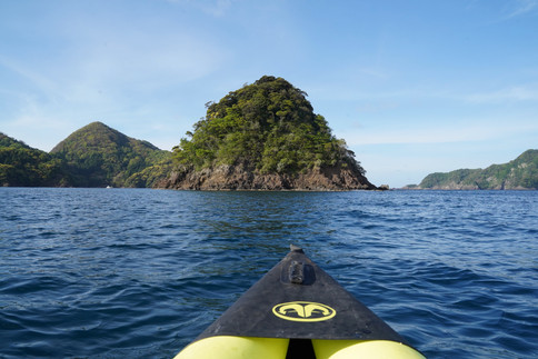 kayaking in Maizuru peninsula