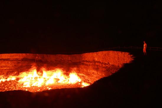 Porte de l'Enfer à Darvaza