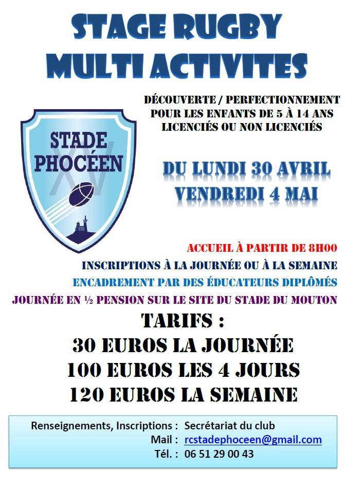 RC Stade Phoceen - Mai 2018