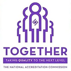 NAC. National Accreditation Commission. Accredited. DHS 3 star.