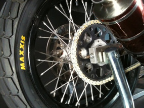 Olimunllum® CF/PEEK Sprockets performing over a season in Flat Track Racing, and still going!