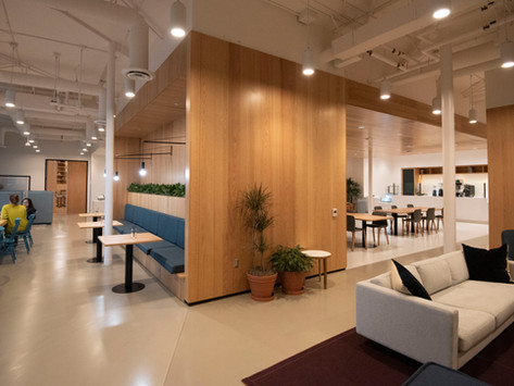 Make Coming Back to the Office a Perk with Inspiring Spaces