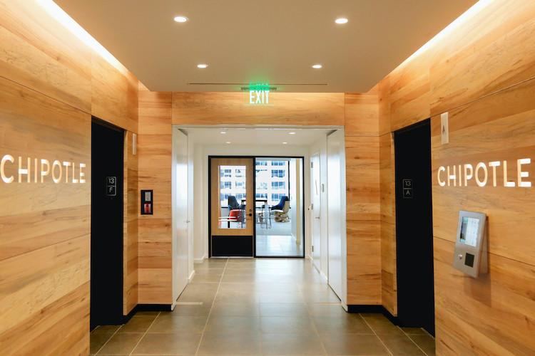 Chipotle elevators