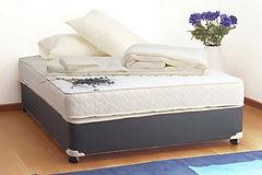 mattress sanitized by UV lite and steam