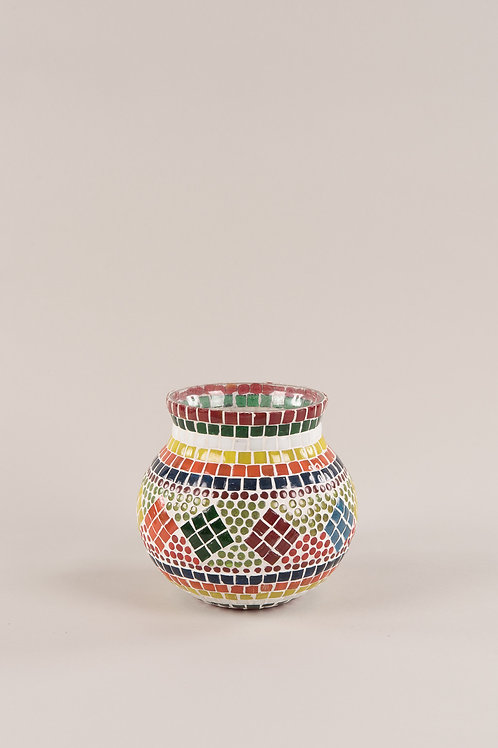 Bohemian Mosaic Pot