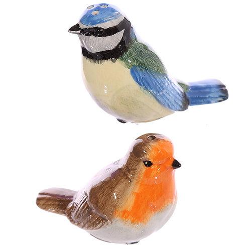 British Birds Salt & Pepper Shakers