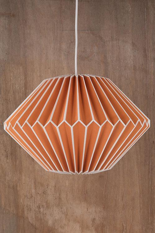 Orange Origami Lampshade
