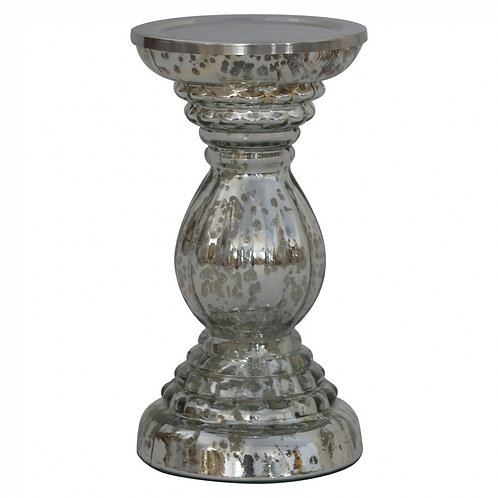 Vintage Glass Candle Stand