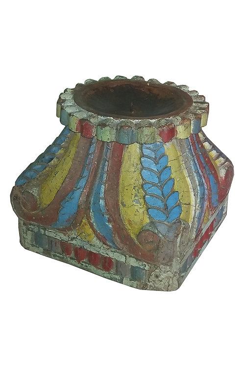 Large Vintage Candle Base