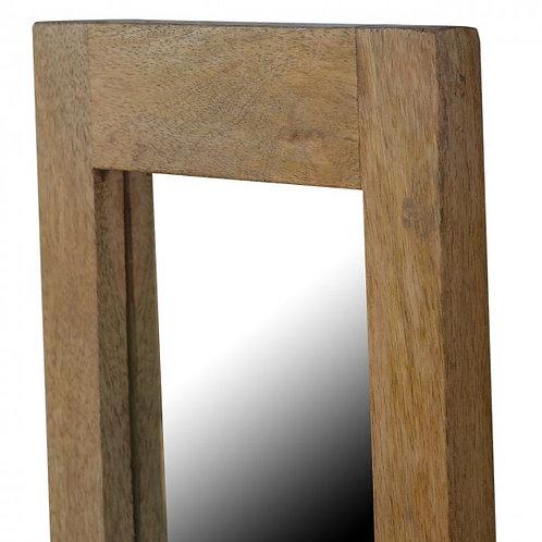 Mango Wood Framed Wall Mirror