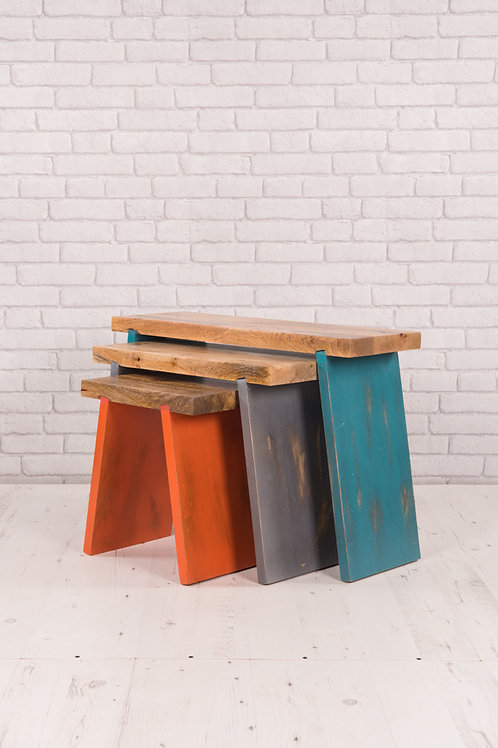 Three Stool Set