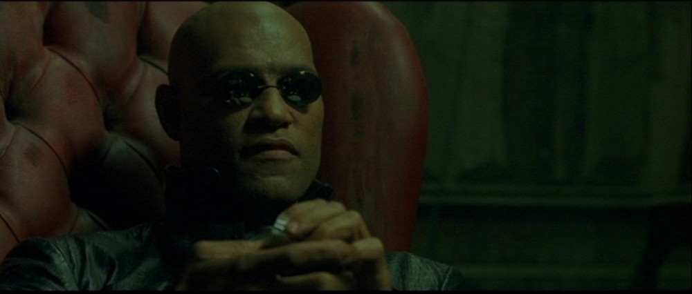 Morpheus. The Matrix.