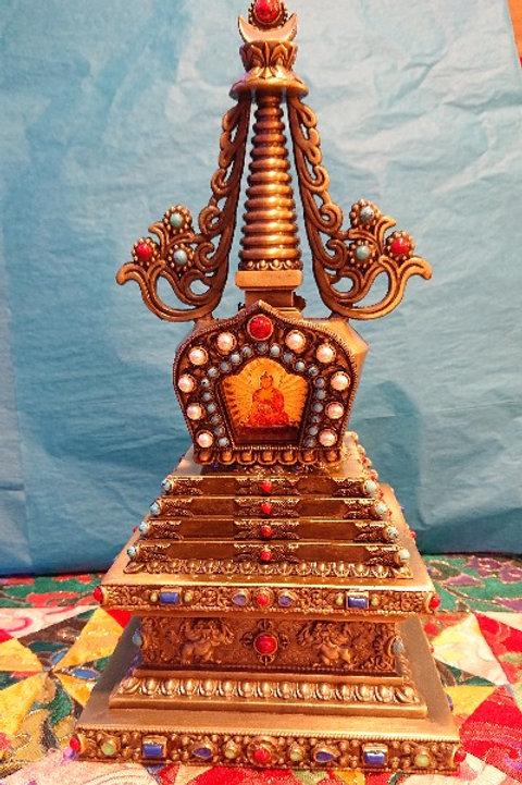 """Old Gold"" Stupa"