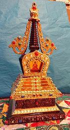 Gold and Bronze Stupa