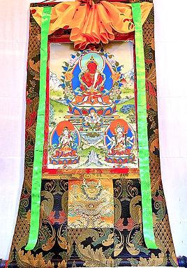Amitayus with Namgyalma and White Tara