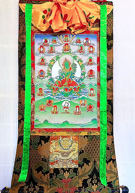 Twenty One Taras Thangka