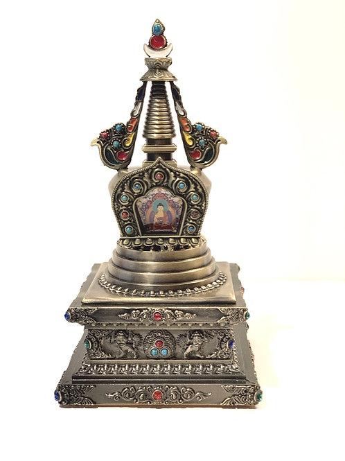 Silver Stupa-Small