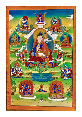 Guru Rinpochewith Eight Manifestations