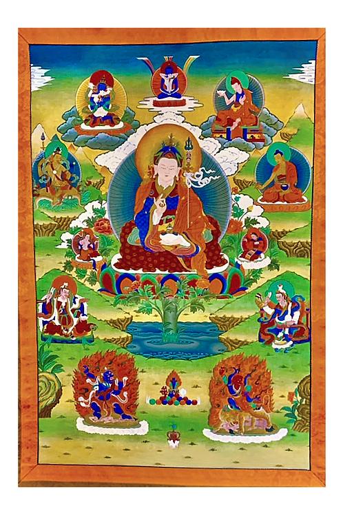 Guru Rinpochewith Eight Manifestations