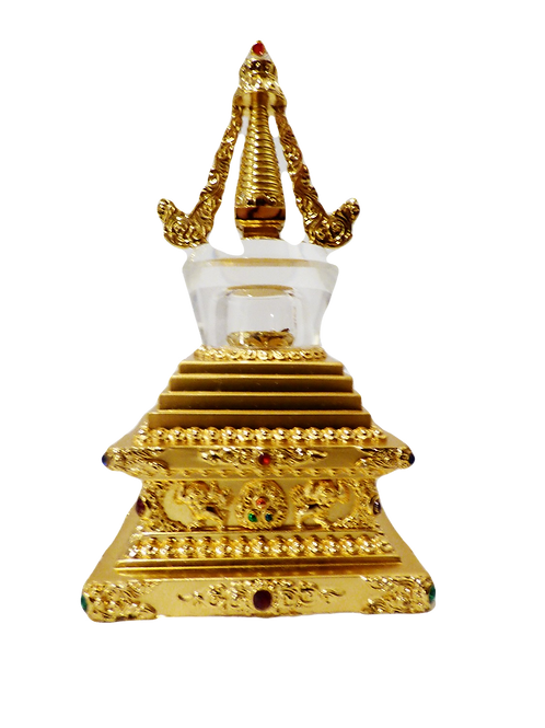 Enlightened Crystal Stupa - Large