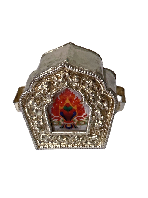 Wish Fulfilling Jewel Protection and Blessing Amulet (Ghau)