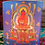 "Thumbnail: Amitabha Buddha Inscription Candleholder, 3.25"" X 3"""